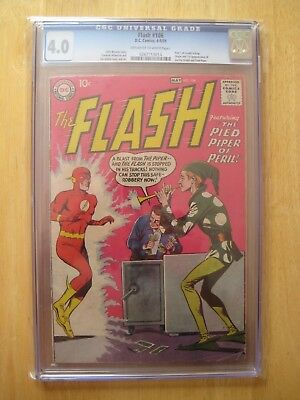 DC Comics FLASH 106 cbcs/ cgc 4.0 1959 silver age
