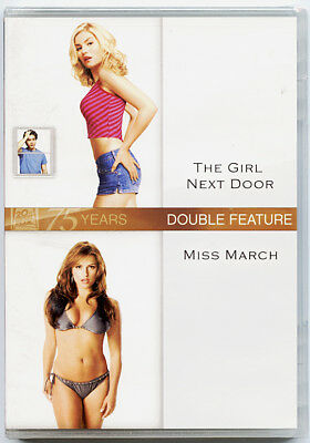 The Girl Next Door/Miss March Double Feature (DVD, 2011, 2-Disc Set) Brand New