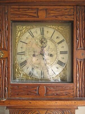 J Richards / Llansamlet grand father clock