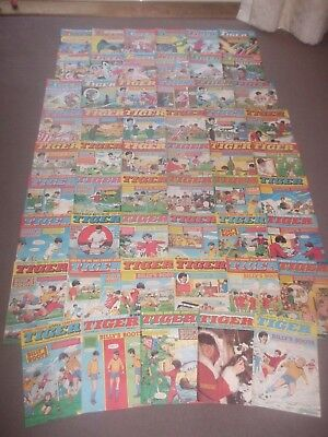 53 x TIGER comics from 1983 - Complete Year