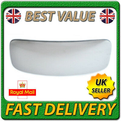 Passenger Side Silver Wide Angle Door Mirror Glass Including Base Plate LH FOFiesta 2008 to 2017 Non Heated