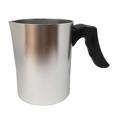 550Ml Wax Melting Pot Small Aluminium Jug Candle Soap Making Pitcher Pourer New