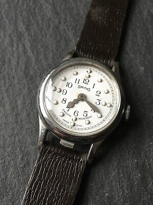 Vintage Men's Smiths Braille Watch Fully Working Manual Wind Mechanical English