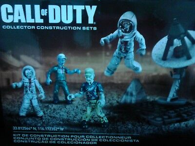 Spielset Mega Bloks Call of Duty Zombies Moon Mob Lego