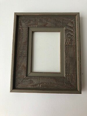 NEW Quality wooden ACEO Art card 3.5 x 2.5 brown/gray picture frame