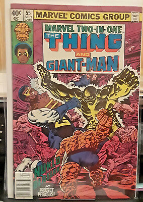 """Marvel Comics-Marvel Two-In-One """"the Thing And Giant-Man""""-Date:1979-Issue-55"""