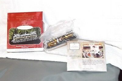 Hallmark Pennsylvania GG-1 Locomotive Lionel Train Christmas Ornament 1998 3rd