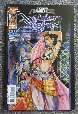 Tomb Raider : Arabian Knights #1 (Top Cow, 2004, Complete Set) VF