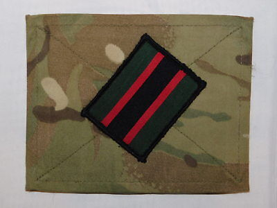 British Army Rifles patch/badge/TRF MTP velcro blanking panel insignia