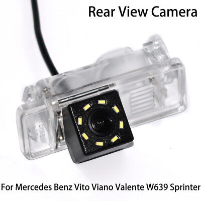 CCD Car Rear View Reverse Back Up Camera for Mercedes Benz MB Vito W639 Sprinter