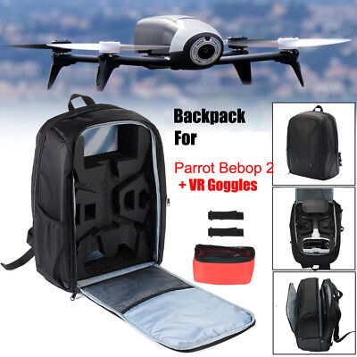Bag Backpack Portable Shoulder Carrying Case For Parrot Bebop 2 Power FPV Drone