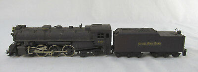 HO Scale Kemtron Steam Engine w/Tender - NYC & St. Louis 177
