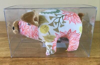 PIN CUSHION PIG 'Fable Floral' FABULOUS DESIGN Boxed