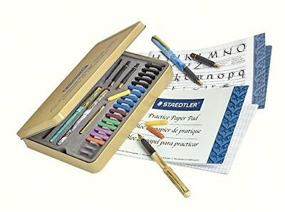 Calligraphy Pen Set Starter Kit Letters Ink Cartridge Practice Pad Included Pro