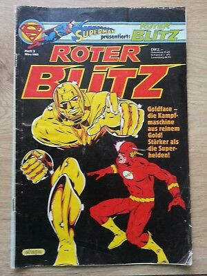 "Superman Comic ""Roter Blitz"" Heft 3 (1983)"