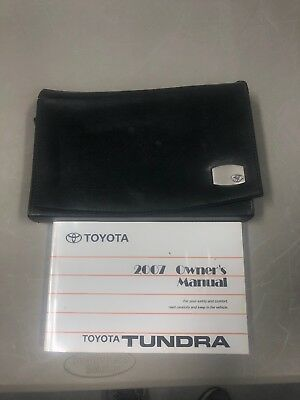 toyota tundra owners manual