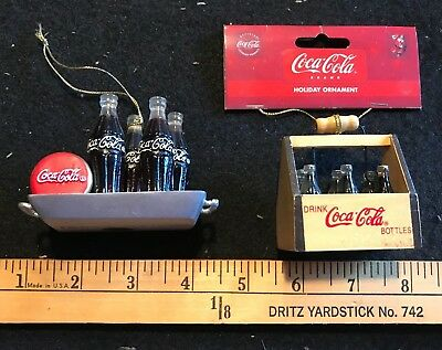 Coca-Cola Christmas Ornaments (2 of them)