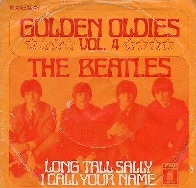 """""""7"""", The Beatles, """" Long tall Sally/ I call your Name """", Odeon Lable"""