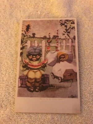Black Americana Postcard Ain't Going To Be None Left  Comic Card