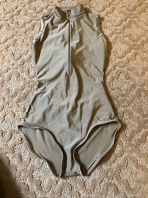 Yumiko Charlotte Leotard Size Large Toffee Collection