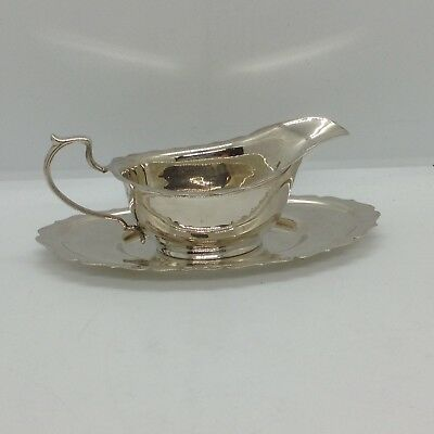 Vintage Silver Plated Pinder Brothers Sauce Boat