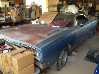 1968 Plymouth GTX Barn Find Survivor - No Reserve 1968 Plymouth GTX Numbers Matching 440, 4-Speed, 3.54 Dana 60