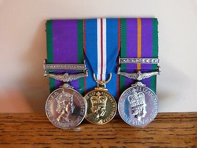 Three Medals issued to Pte Royal Irish home service Battalion