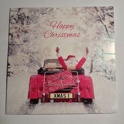 Morgan Sports Car Happy Christmas Cards  - pack of 10