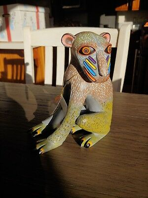 Sterling and Camille baboon art figurine