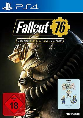 Fallout 76 SPECIAL EDITION PlayStation 4 *NEU & OVP* Playsi PS4 Fallout76 new