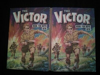 The Victor Book for Boys 1976 Annual Paras Bickers Platoon - Vintage - Christmas