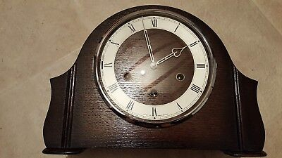 Smiths Westminster Chimes Mantel Mantle Clock