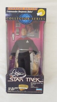 """ Playmates 9 Inch Figuren Commander Edition Sisko Original Verpackt"""