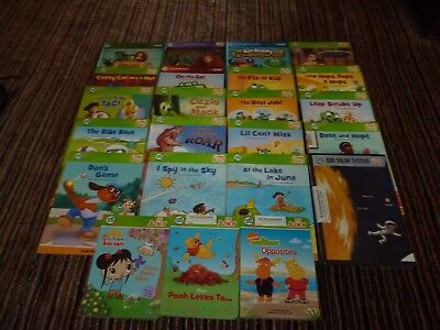 Lot of 22 Leap Frog School for LEAP READER TAG~Hardcover Paperback Books