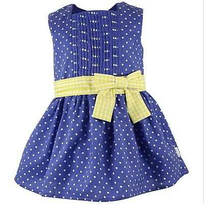 Tutto Piccolo Beautiful Lined Girls Party Dress 24 Months