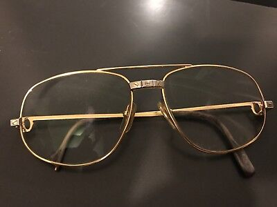 6f988a7839b435 Authentique Lunettes Cartier Vendome Santos Cartier Sunglasses Vintage