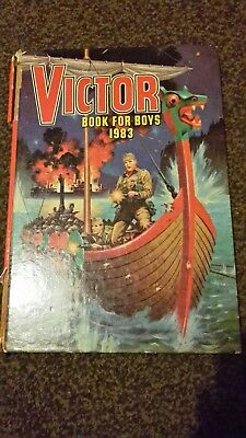 Victor Book For Boys 1983