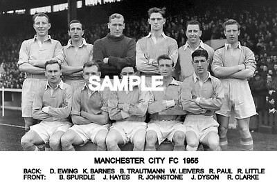 Manchester City FC 1955 Team Photo