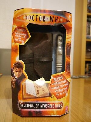 Doctor Who The Journal of Impossible Things & Sonic Screwdriver