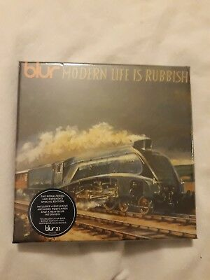 Blur - Modern Life Is Rubbish Special Edition 2 x CD Box Set NEW SEALED
