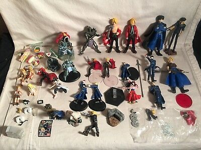 25 FullMetal Alchemist Action Figure Lot EDWARD Alphonse Elric ROY MUSTANG WINRY