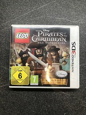 LEGO Pirates of the Caribbean Spiel (Nintendo 3DS, 2011) Fluch Der Karibik LEGO