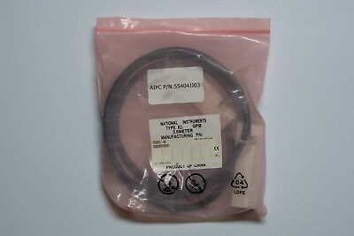... #004 National Instruments GPIB Kabel 2m Typ X2 Neu