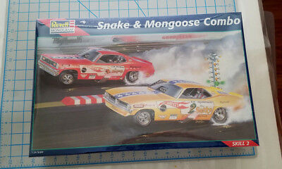 Factory Sealed Snake&Mongoose Combo Kit factory sealed new in box