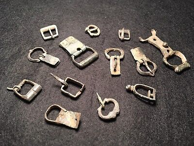 Buckles Strap Ends Metal Detector Finds - 1p start Royal Mail Shipping included.