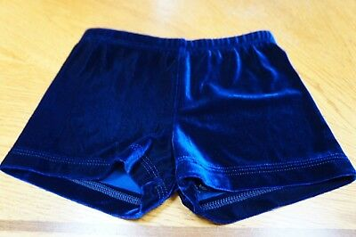 Girl Blue Gymnastic Shorts Size X Small