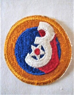 Vintage Original WW2 Era US Army 3rd Air Force Corps Shoulder Patch USAAF