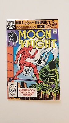 Moon Knight 1980 #13 Daredevil App Marvel Htf Comic Awesome Condition! 🔥
