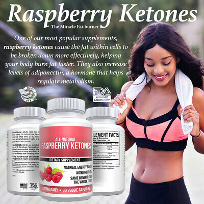 Pure Raspberry Ketones Extract Keto Health MAX Weight Loss Supplement Ketone