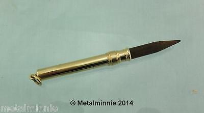 Late Victorian 18Ct Solid Gold Pencil Holder Sampson Mordan
